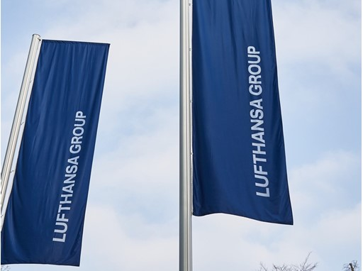 Lufthansa Group flags