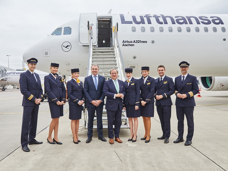Lufthansa Group | Newsroom : Carsten Spohr and Armin Laschet ...