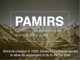Heute fliegt Lufthansa zu 19 Zielen in Asien. Vor 80 Jahren war ein Flug über den Pamir undenkbar