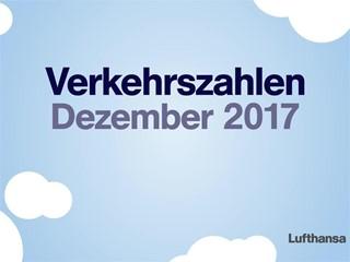 Verkehrszahlen Dezember 2017