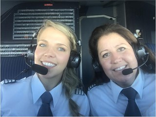 Interview with Eurowings Captain Kirsten Jansen and First Officer Alina Käufer