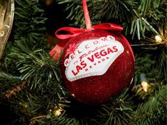 Photo and Video: Celebrating the Season in Las Vegas