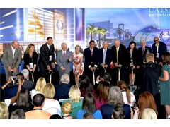 Caesars Entertainment Breaks Ground on $375M Conference Center in Las Vegas