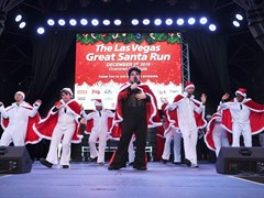 Las Vegas Great Santa Run