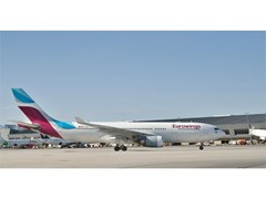 Las Vegas Welcomes New Nonstop Flight From Frankfurt Operated by Lufthansa Group's Eurowings