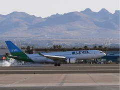 LEVEL Arrives in Las Vegas on its Inaugural Flight from Paris