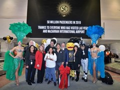 McCarran Celebrates 50 Million Passengers