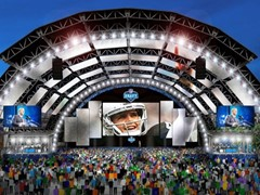 NFL Announces Locations of 2020 NFL Draft Events in Las Vegas