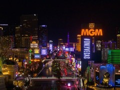 Las Vegas Paints the Town Purple in Celebration of Campaign Launch