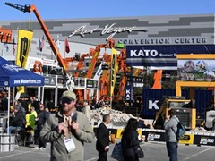 2020 World of Concrete Show in Las Vegas