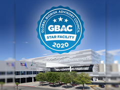 Las Vegas Convention Center Receives GBAC STAR Accreditation by World's Leading Cleaning Industry Trade Association