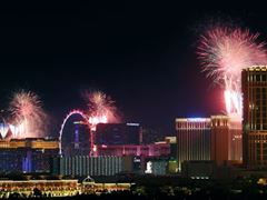 Las Vegas Celebrated Independence Day with Fireworks and the Return of Live Entertainment
