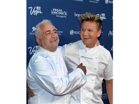 Guy Savoy and Gordon Ramsay