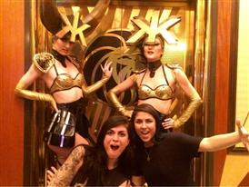 Krewella and Hakkasan Girls