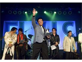 Tribute Artists Honor the King of Rock 'n' Roll at Elvis Rocks Mesquite
