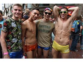 Las Vegas at the San Francisco Pride Parade