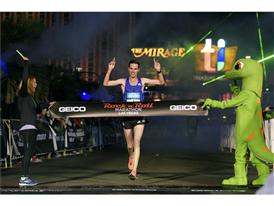 Rock 'n' Roll Marathon winner AndrewLemoncello