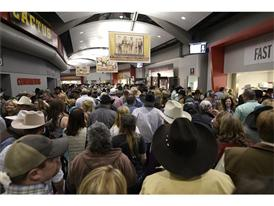 NFR fans fill the Thomas & Mack