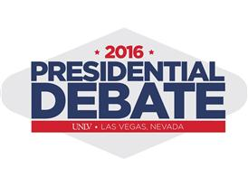 2016 Presidential Debate Graphic Logo