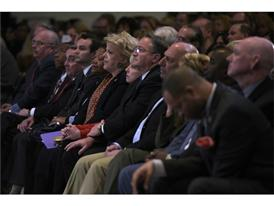 2016 Presidential Debate press conference attendees