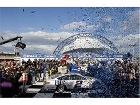 NASCAR Kobalt 400 victory celebration