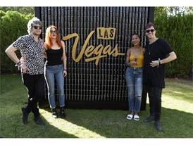 Icona Pop and Bob Moses at the #WHHSH Las Vegas Party in Palm Springs