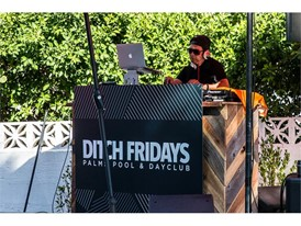 "Palms Casino Resort's ""Ditch Fridays"" DJ, Mark Stylz, at the #WHHSH Las Vegas Party in Palm Springs"