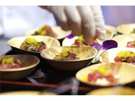 Vegas Uncork'd: Big eye tuna poke from Sushi Raku