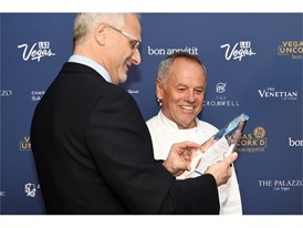 Vegas Uncork'd: Caesars Palace President Gary Selesner and chef Wolfgang Puck