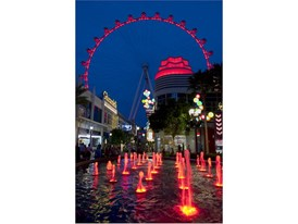High Roller goes red for Tourism Week