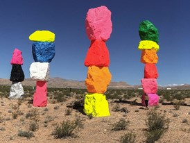 Large-Scale Desert Art Installation Near Las Vegas Unveiled