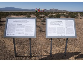 Seven Magic Mountains information panels