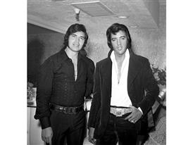 Engelbert Humperdinck and Elvis Presley at the Riviera