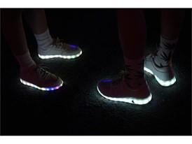 Illuminated soles