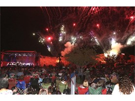 Fireworks and Nevada Pops Orchestra