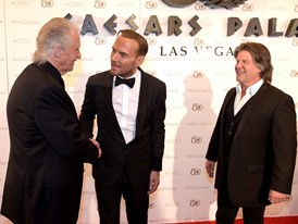 Legends Old and New Meet on the Red Carpet in Las Vegas at Caesars Palace