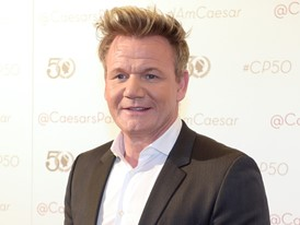 Gordon Ramsay Walks The Red Carpet at Caesars Palace