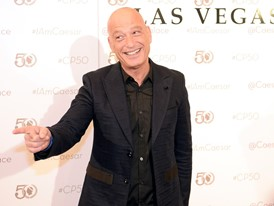 Howie Mandel At Caesars Palace on Its 50th Anniversary