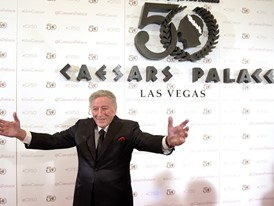 Tony Bennett Returns to Caesars Palace for Its 50th Anniversary