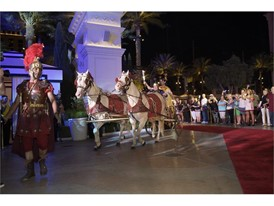 Caesars Palace chariot