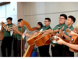 Mariachi Oro Del Rancho High School