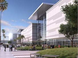 Las Vegas Convention Center Expansion Rendering