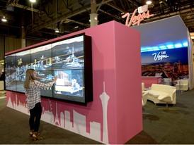 LVCVA's new interactive trade show booth
