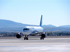 Interjet lands in Las Vegas