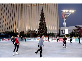 Ice rink at The Park