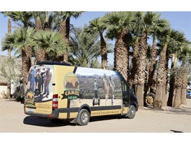 Camel Safari shuttle bus