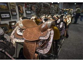 Finely decorated saddles