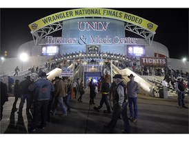 Wrangler National Finals Rodeo at Thomas & Mack Center