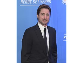 Luke Wilson arrives on the red carpet for the annual NASCAR Sprint Cup Series Awards