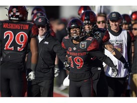 San Diego State running back Donnel Pumphrey Jr.,
